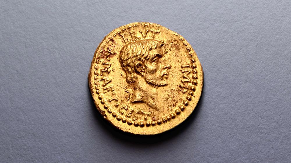 монета aureus продана за цену 3,5 миллиона долларов сша
