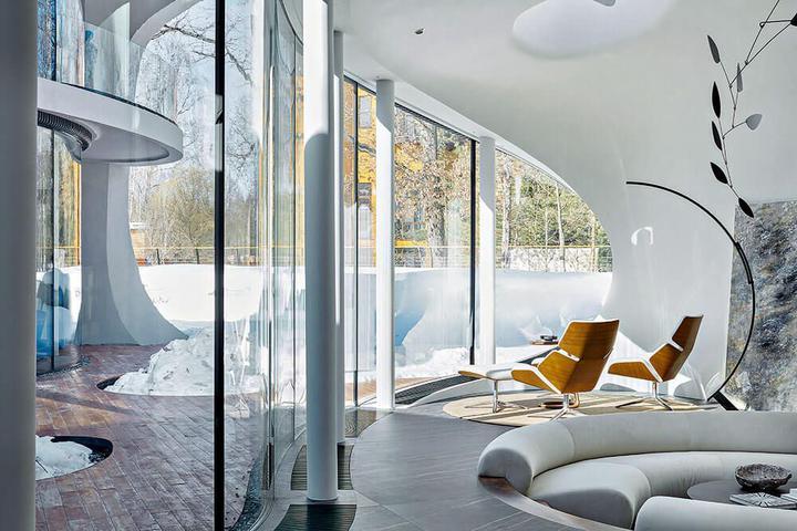 фото интерьера уникального дома