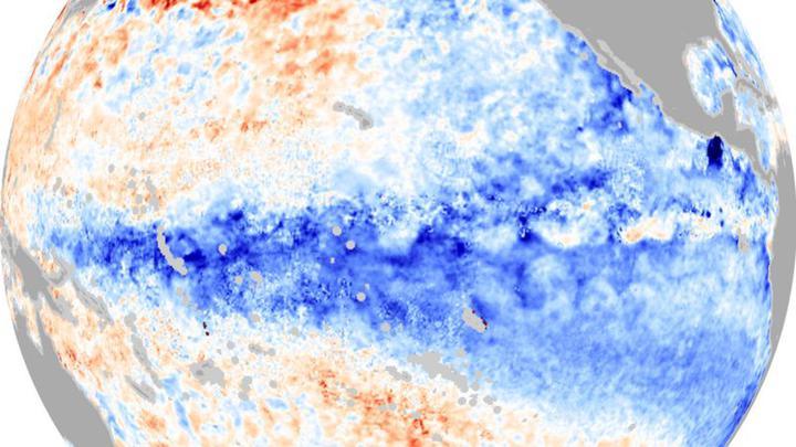 В Тихом океане зарождается природный феномен Ла-Нинья