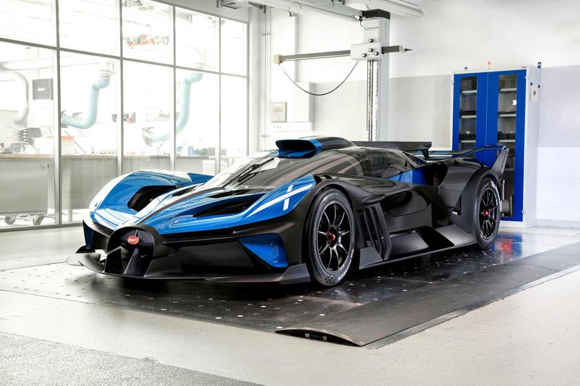 цена, характеристики, скорость, фото, видео Bugatti Bolide