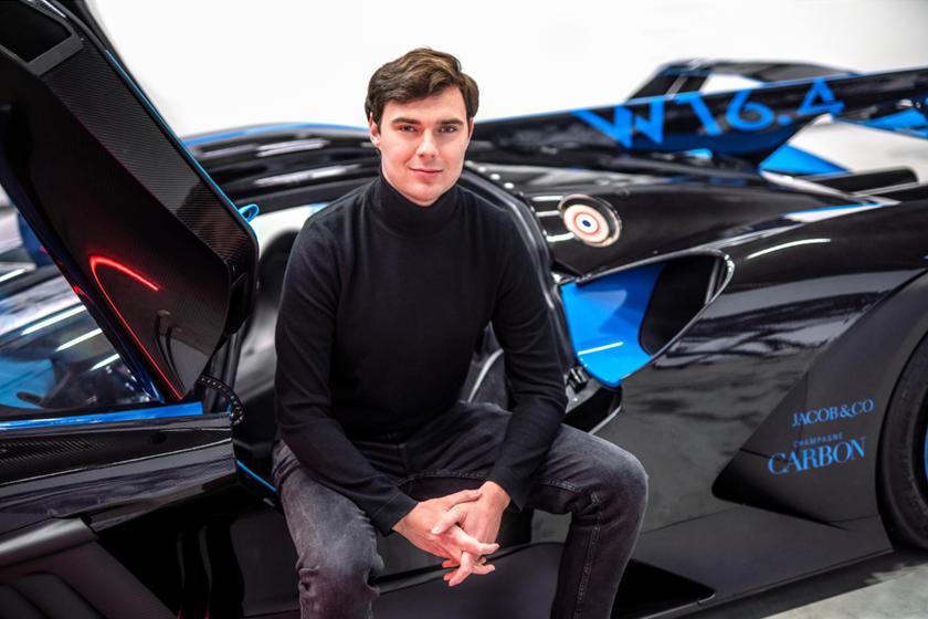 разработчик Bugatti Bolide