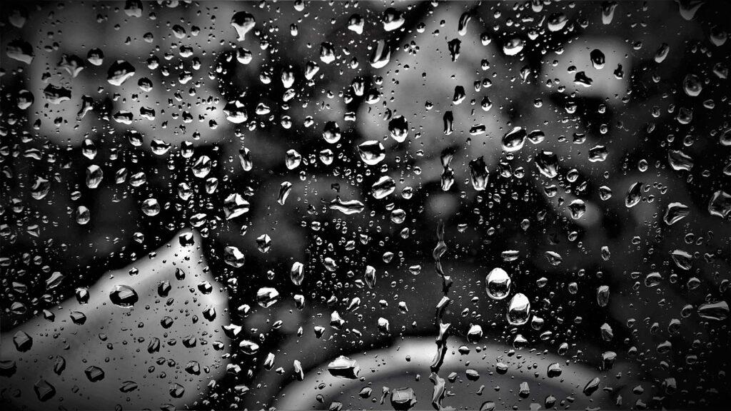 дождь стекло грусть