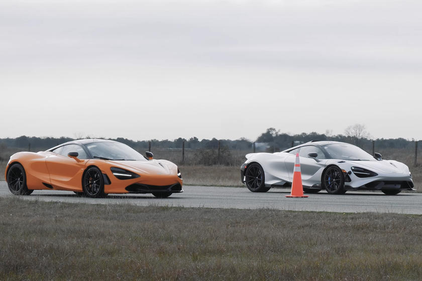 McLaren Drag Race 765LT Vs. 720S