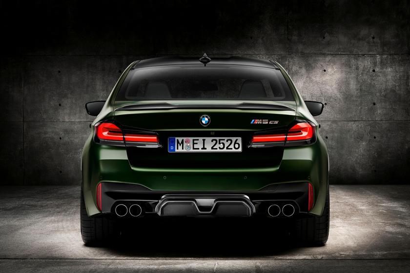 BMW M5 CS фото и видео