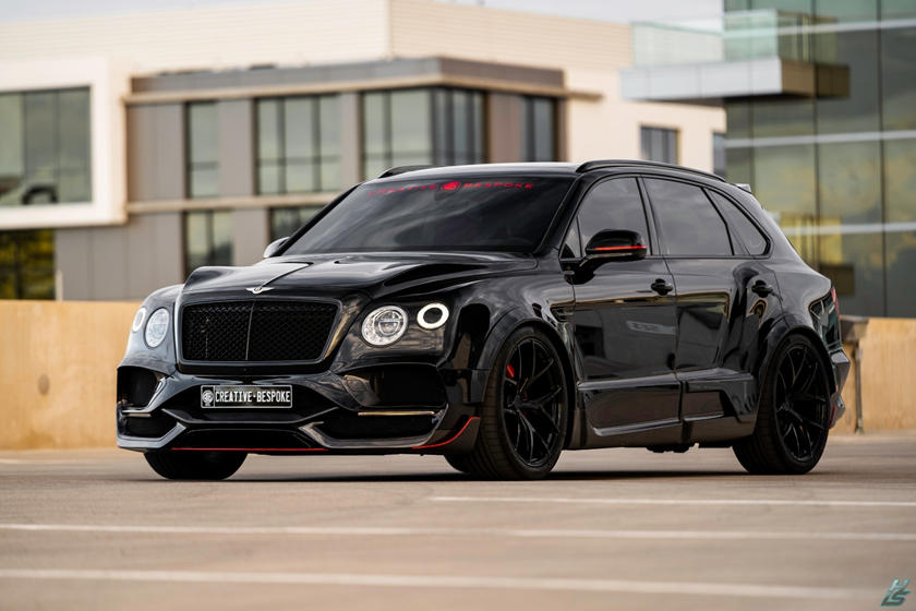 Bentley Bentayga Onyx