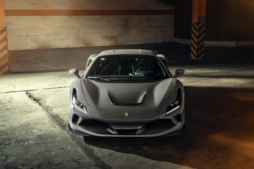 характеристики Ferrari F8 Tributo