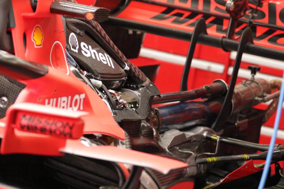 Силовая установка Ferrari 065, установленная на SF1000