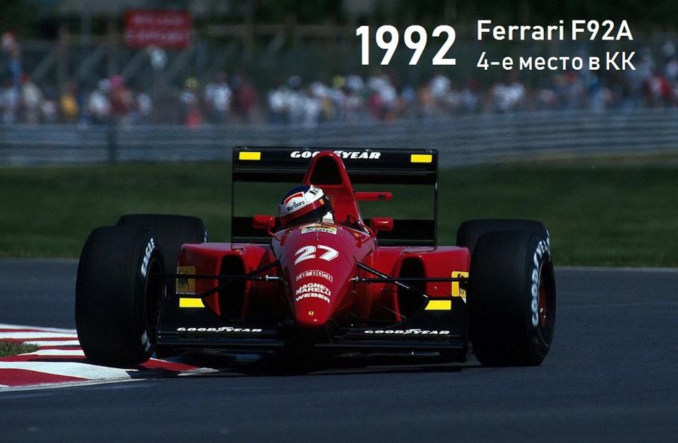 Ferrari F92A фото