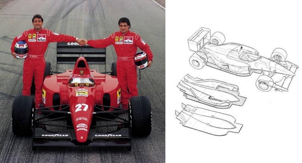 Ferrari F92A характеристики