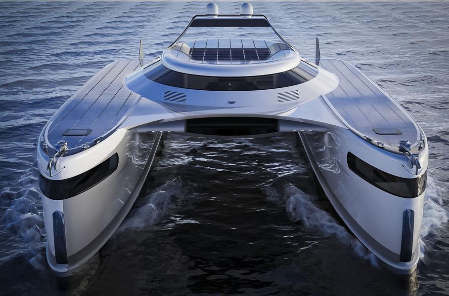 Pagurus яхта амфибия