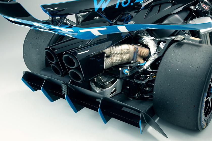 техническая часть Bugatti Bolide