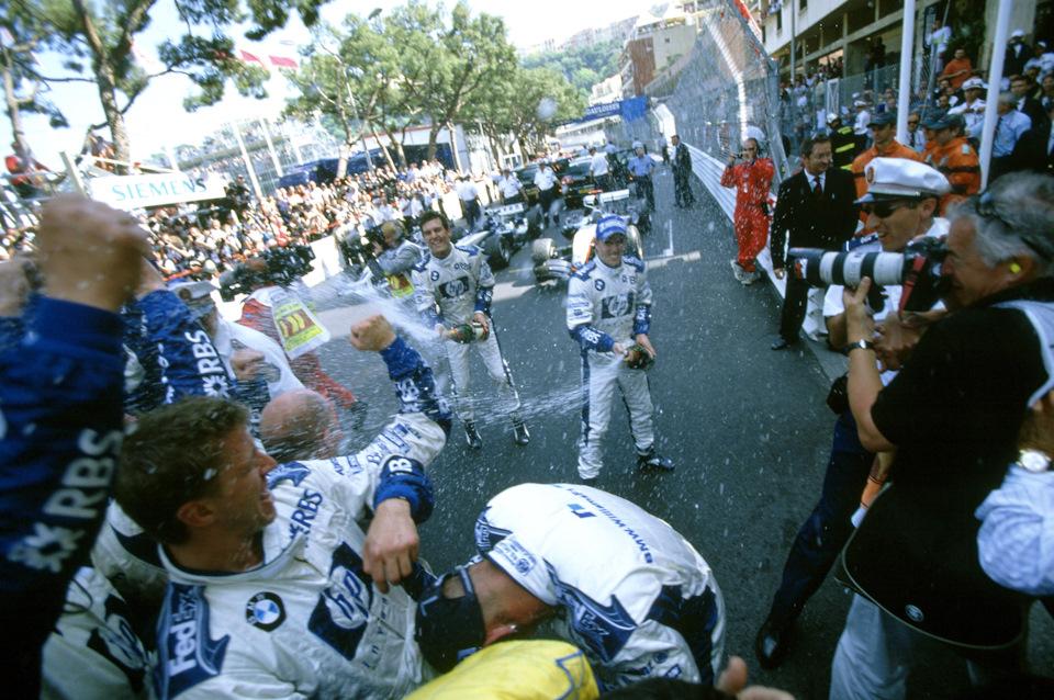 Двойной подиум Ника Хайдфельда и Марка Уэббера в Монако – лучшее достижение сезона '05.