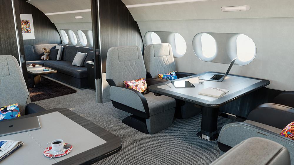 обзор Airbus ACJ TwoTwenty