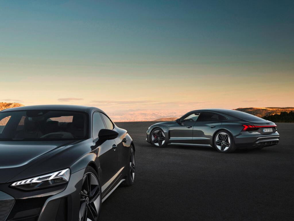скорость и динамика Audi e-tron GT