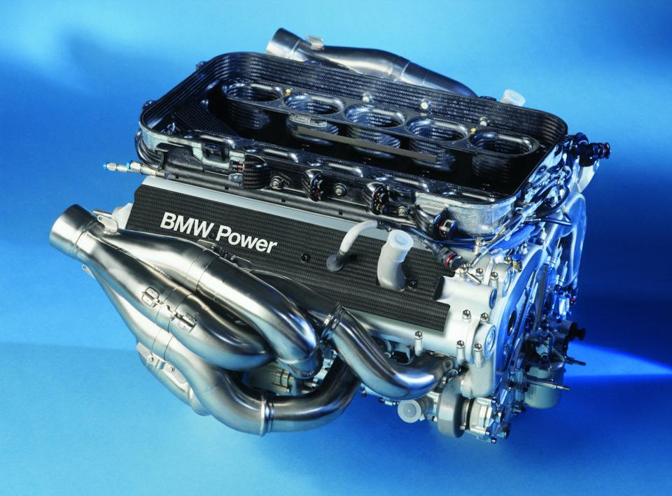 Двигатель BMW P80.