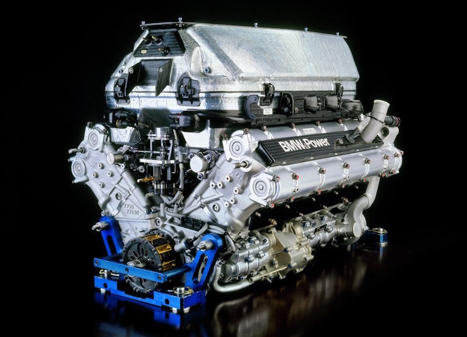 Двигатель BMW P84.