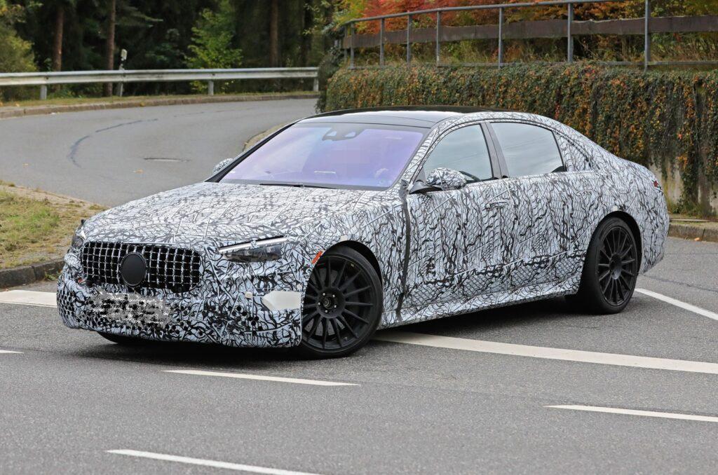 Mercedes-AMG S63e фото