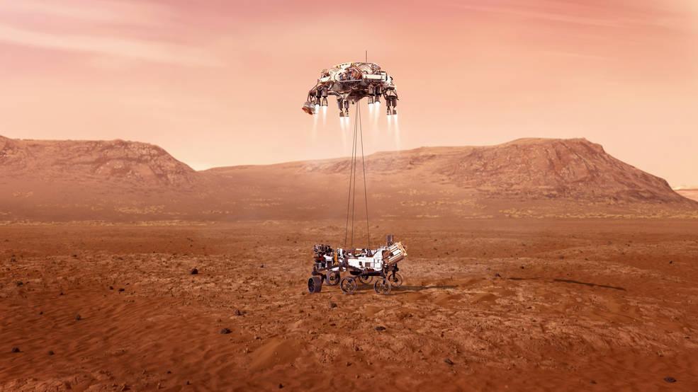 Марсоход «Персеверанс»