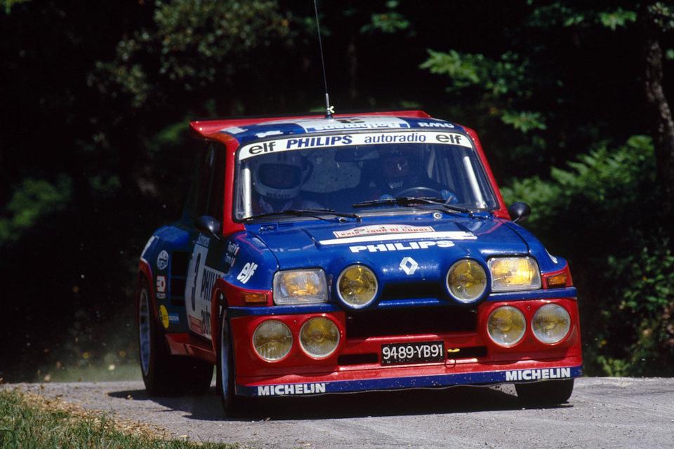 Жан Раньотти и Пьер Тимонье ведут Renault 5 Maxi Turbo к победе в «Тур де Корс» '85.