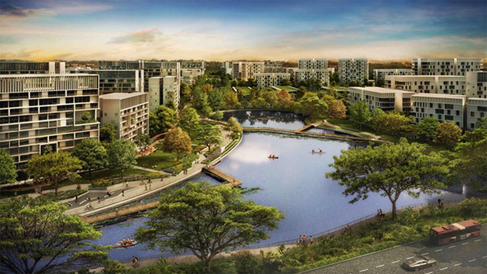 """Сингапур построит """"умный"""" город"""