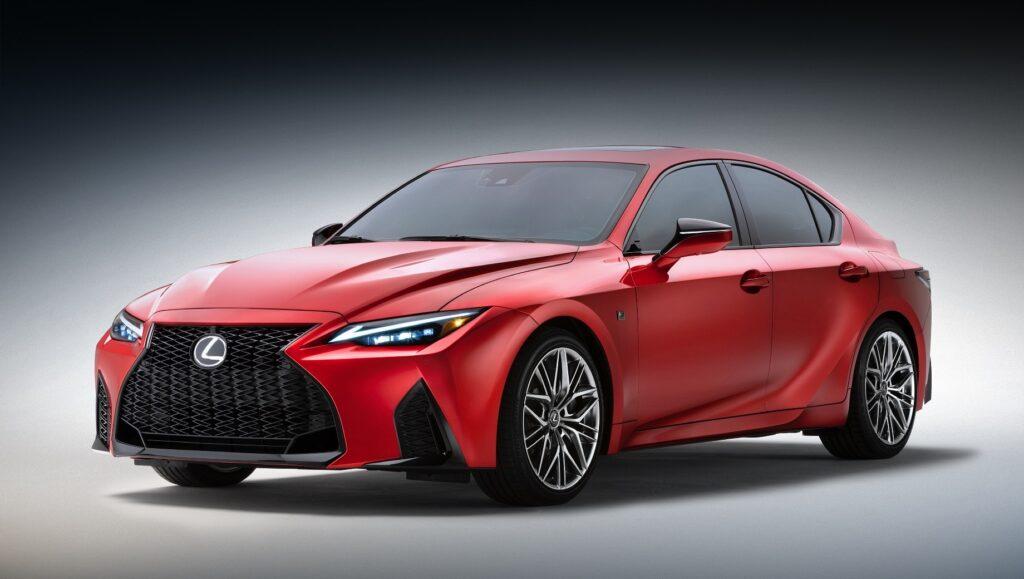 Lexus IS 500 F обзор