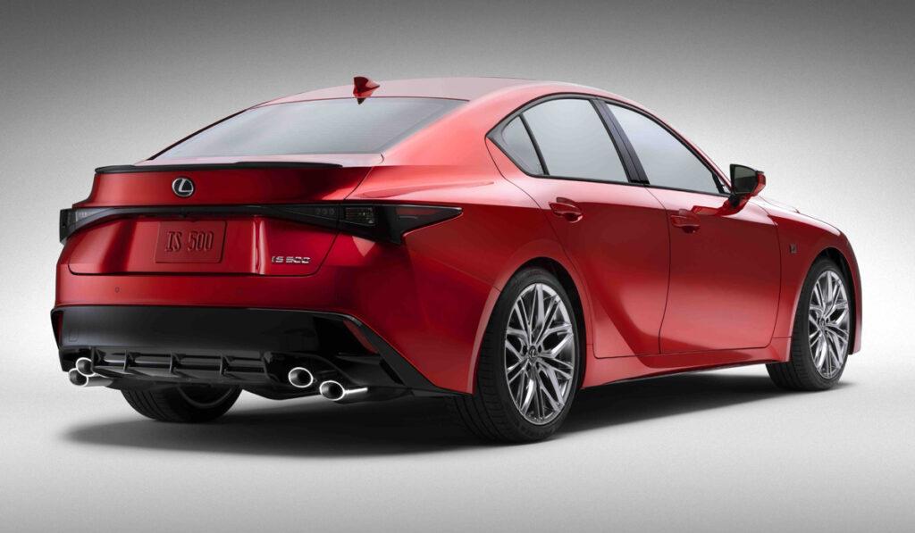 цена Lexus IS 500 F