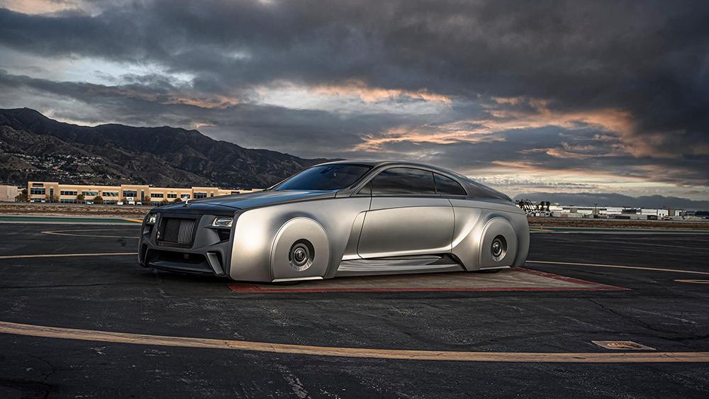 Rolls-Royce Wraith бибера фото