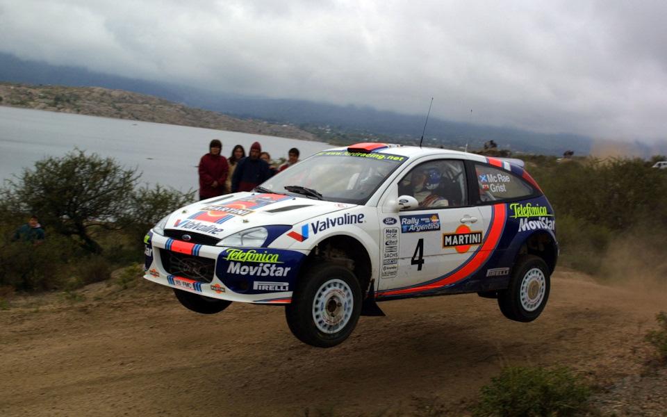 Экипаж МакРей/Грист на Ford Focus RS WRC
