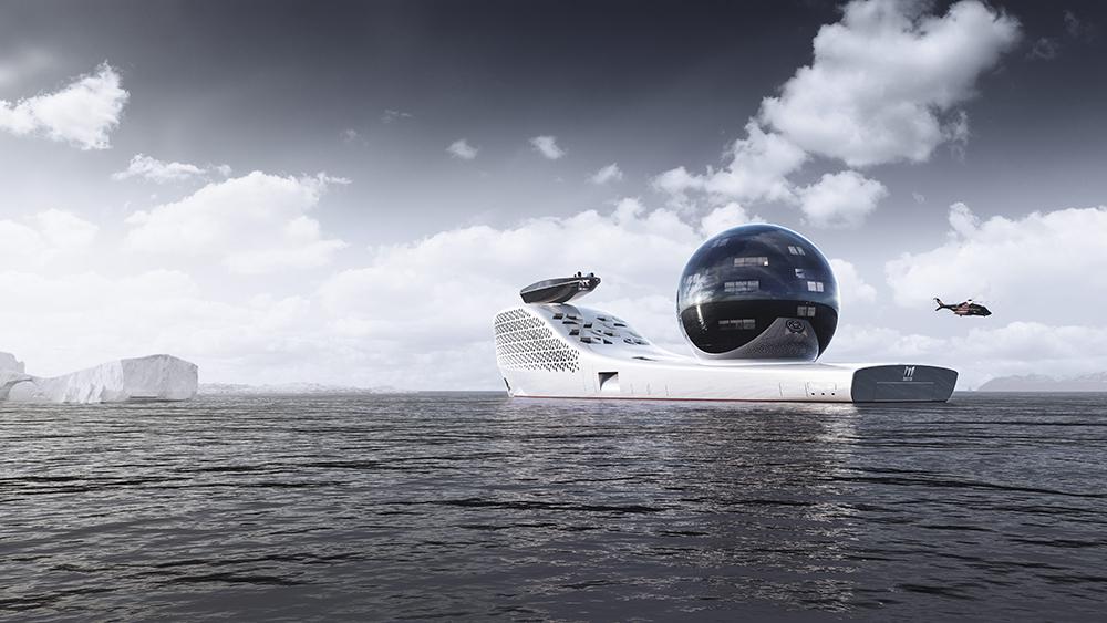 яхта EARTH300