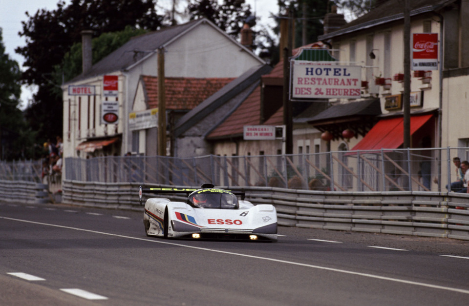 Пьер-Анри Рафанель (выступал в экипаже с Кеке Росбергом и Янником Дальма) на Peugeot 905