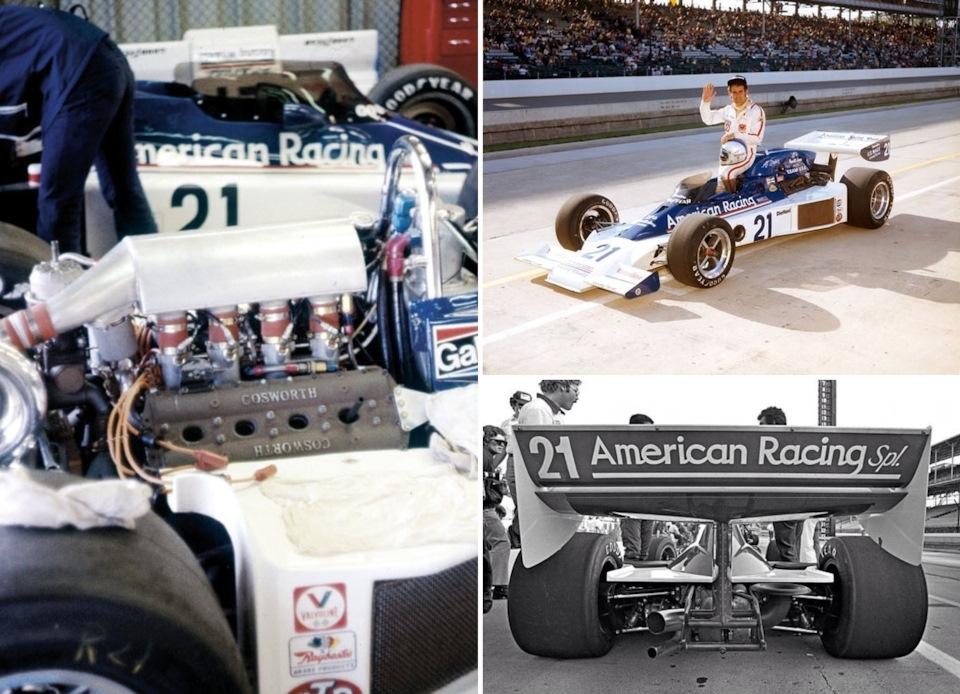 Vel's Parnelli Jones – пионеры использования турбированной версии формульного DFV в Индикаре. Эл Анзер вывел на старт «Инди-500» '76 автомобиль Parnelli VPJ-6B, оснащённый этим мотором.