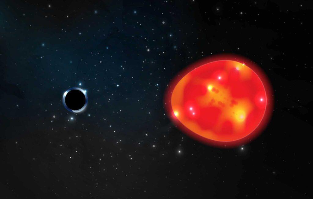 самую близкую к Земле черную дыру