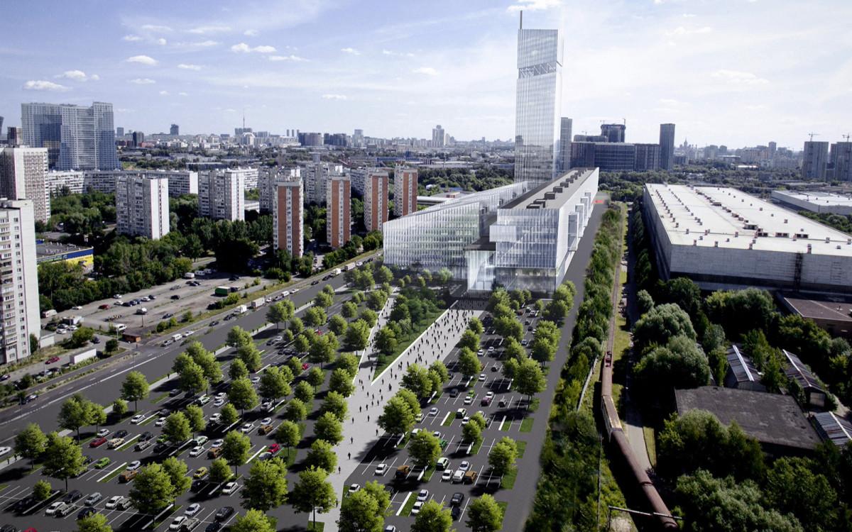Москве построят небоскреб-ракету