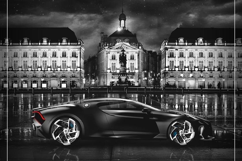 характеристики Bugatti La Voiture Noire
