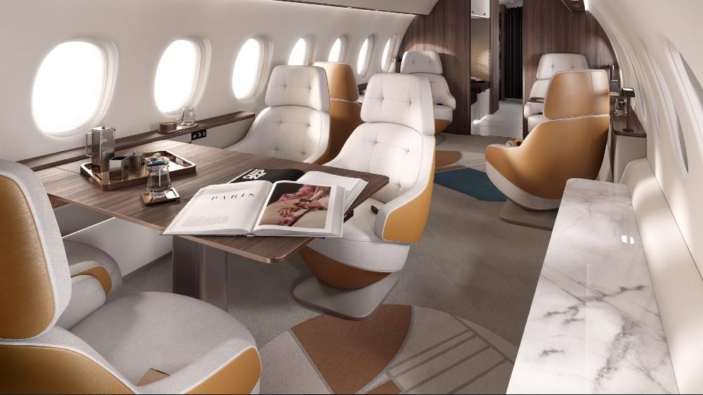 Флагманский Dassault интерьер