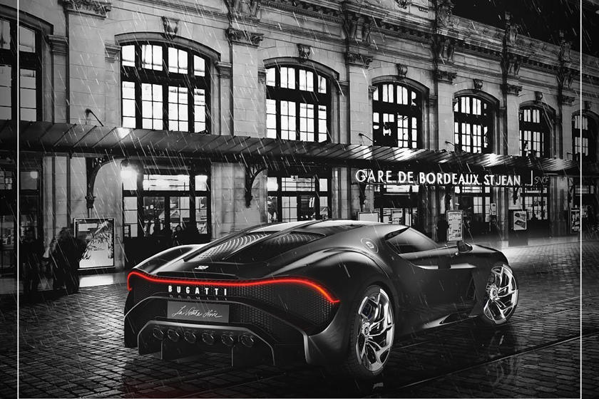 фото Bugatti La Voiture Noire