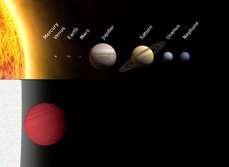 гидроксильный радикал в атмосфере экзопланеты