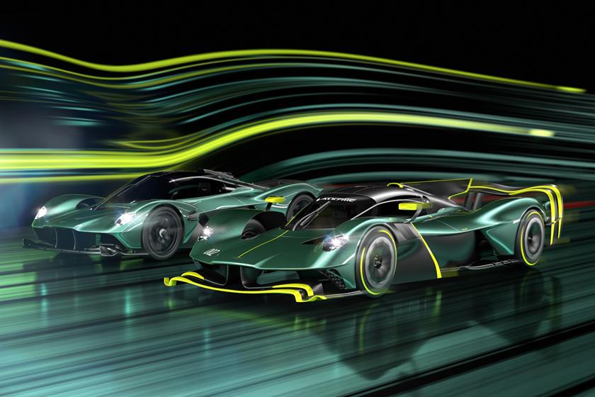 Aston Martin Valkyrie AMR Pro и Aston Martin Valkyrie