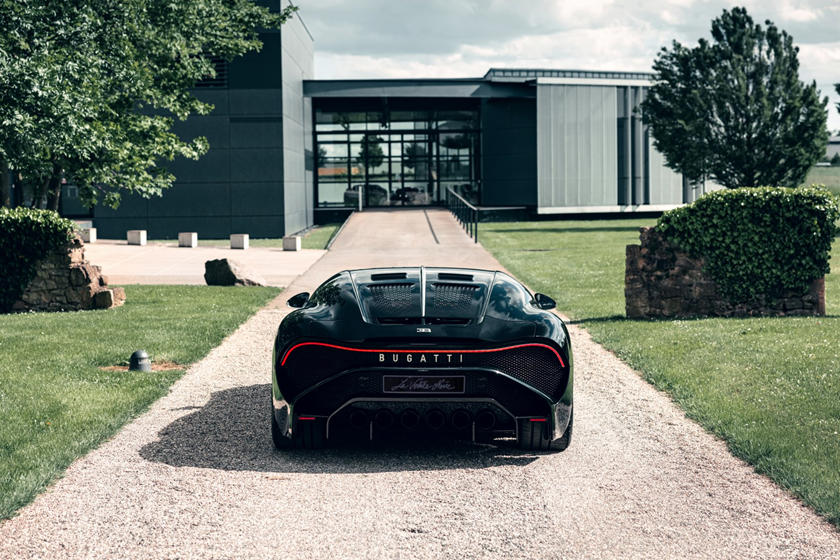 цена и скорость Bugatti La Voiture Noire