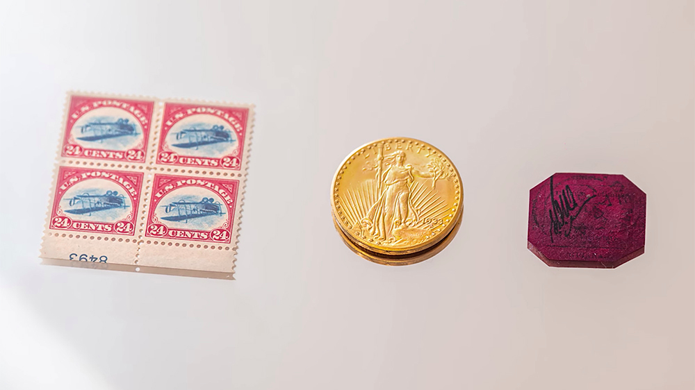5 марок и монета