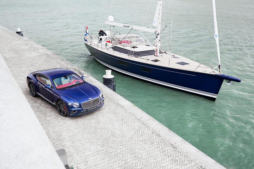 Bentley воссоздает интерьер Continental GT в роскошной яхте