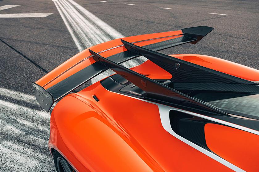 аэродинамика Koenigsegg Jesko Attack