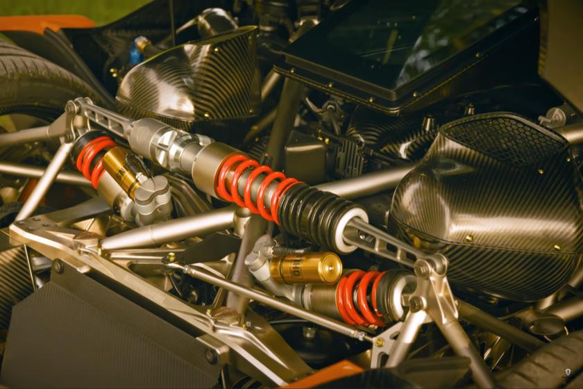 двигатель Koenigsegg Jesko Attack