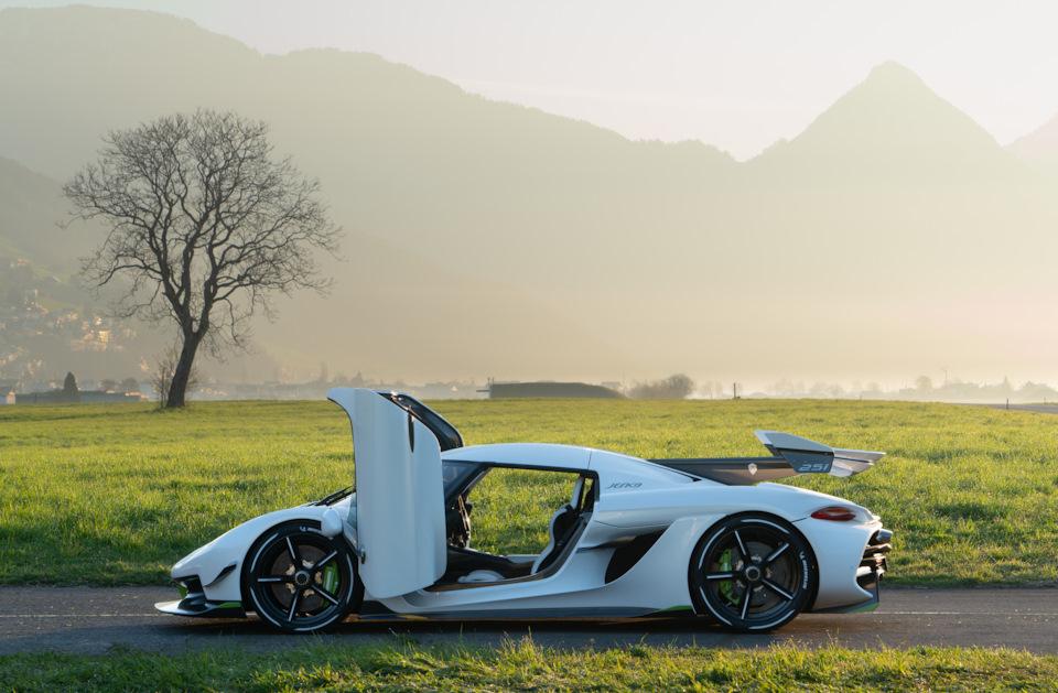 скорость Koenigsegg