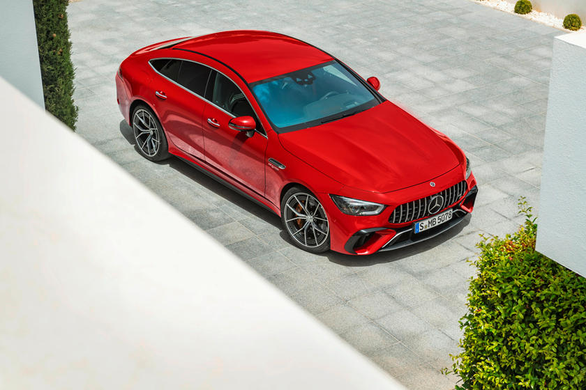 Mercedes-AMG GT 63 SE скорость