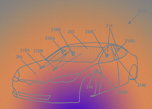 Tesla запатентовала очистку автомобильных стекол лазером